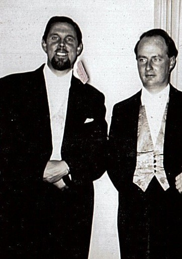 Deller and Dupré in their early days
