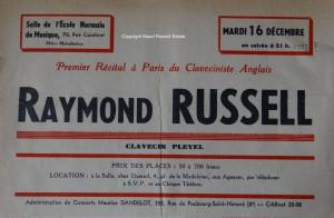 Raymond's 1st Salle Cortot concert